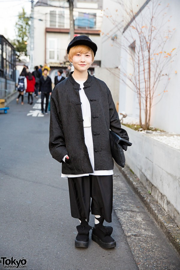 Black Tang Jacket & Monomania Pants