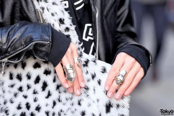 Vivienne Westwood Armor Rings