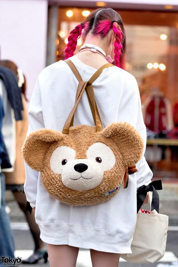 Duffy Bear Backpack