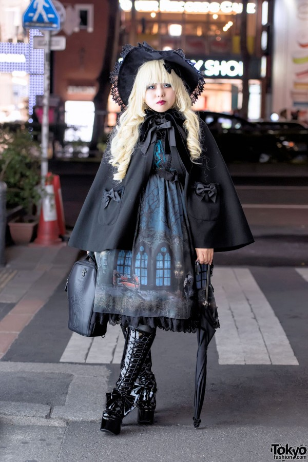 Gothic Lolita In Harajuku W Alice And The Pirates