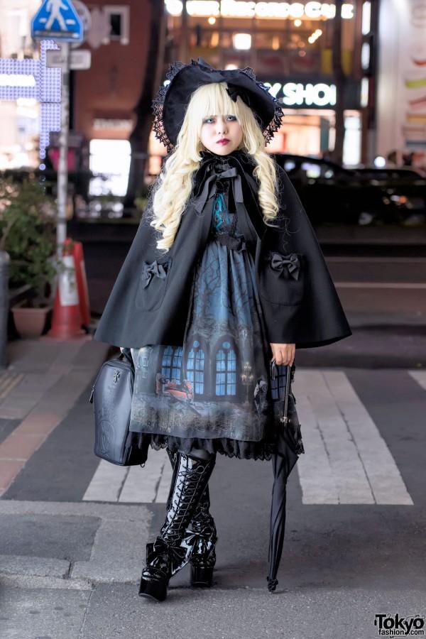 Gothic Lolita in Harajuku w/ Alice and the Pirates & Metamorphose temps de fille