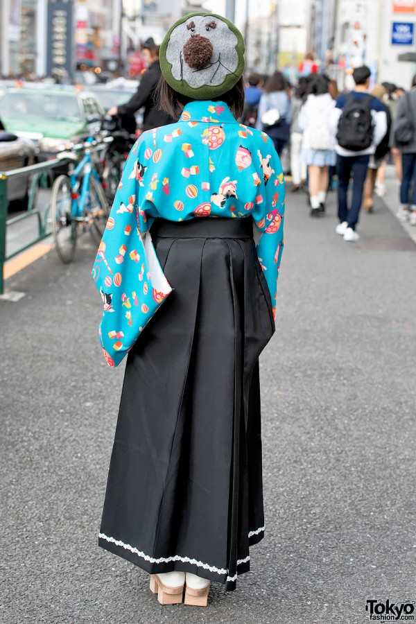 Japanese Girl in Hakama