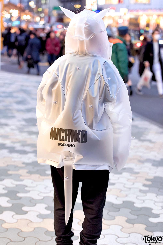 Michiko London Inflatable Cat Jacket Amp Yohji Yamamoto