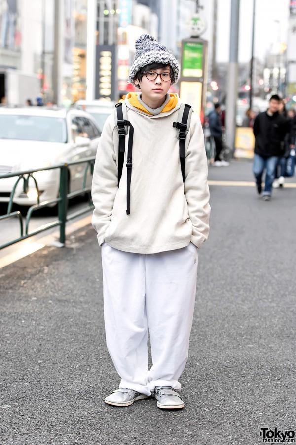 San To Nibun No Ichi Muyua in Harajuku w/ Resale Fashion, Fila & Tokyo Bopper