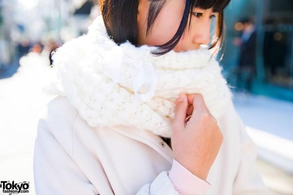 Knit Scarf Harajuku