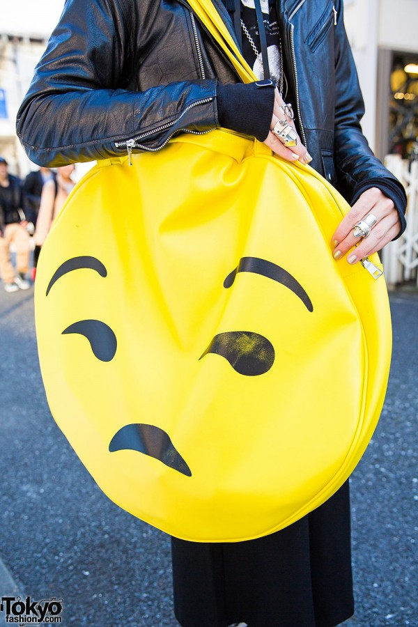 Dolls Kill Emoji Bag