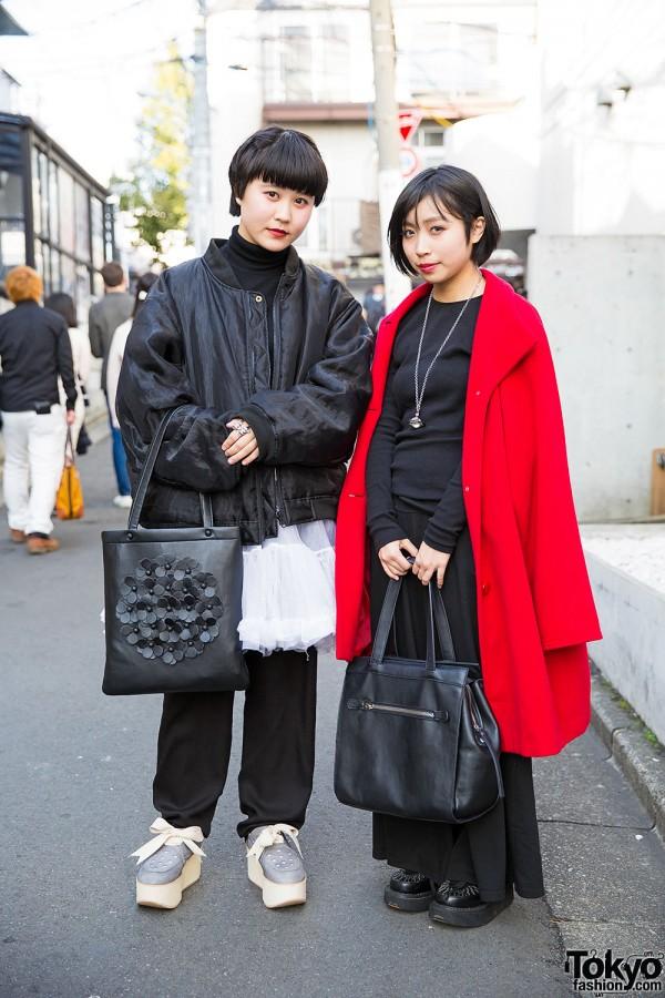 Harajuku Girls in Black & Red
