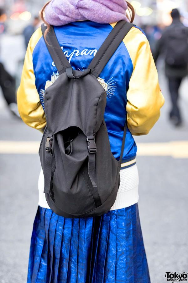 Resale Backpack & Japanese Sukajan Jacket
