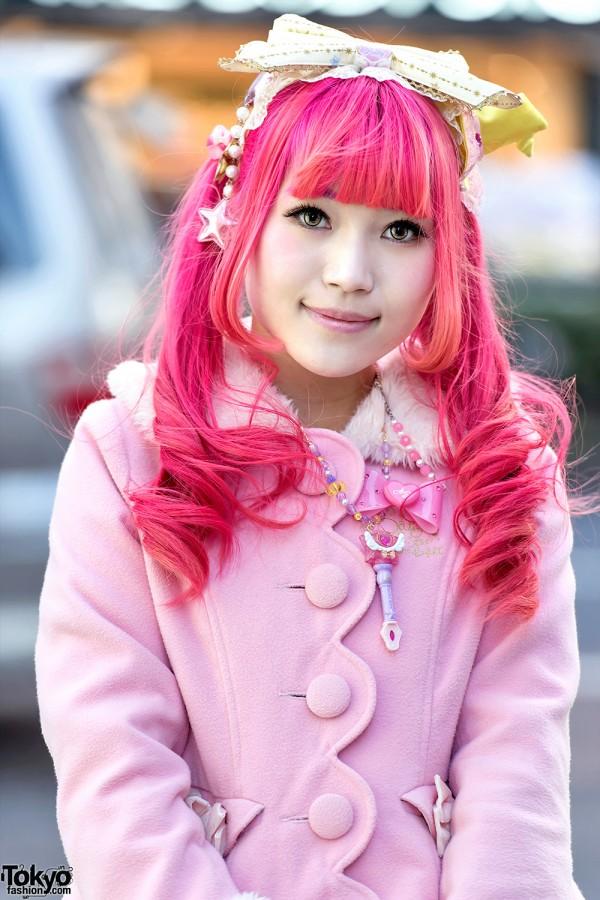 Pink Hair & Angelic Pretty Jacket