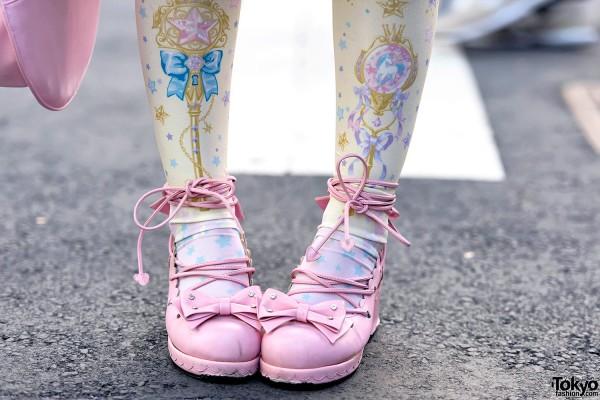 Angelic Pretty Lolita Bow Shoes