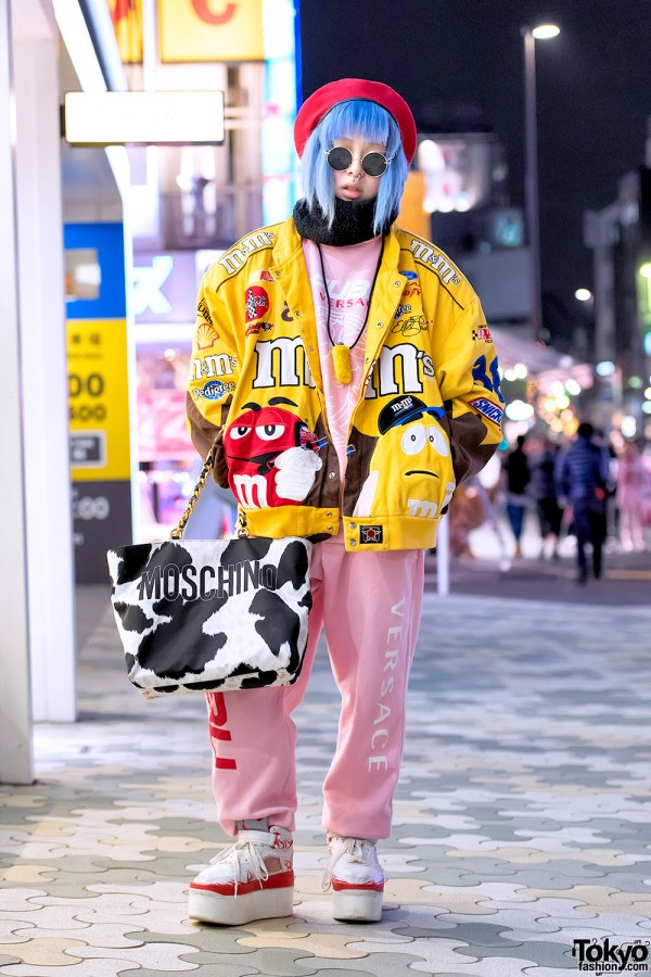 Dog Harajuku Fashion Fangophilia Rings Myob Nyc Bag: Freak City, Dog Harajuku & Moschino Street Fashion In Tokyo