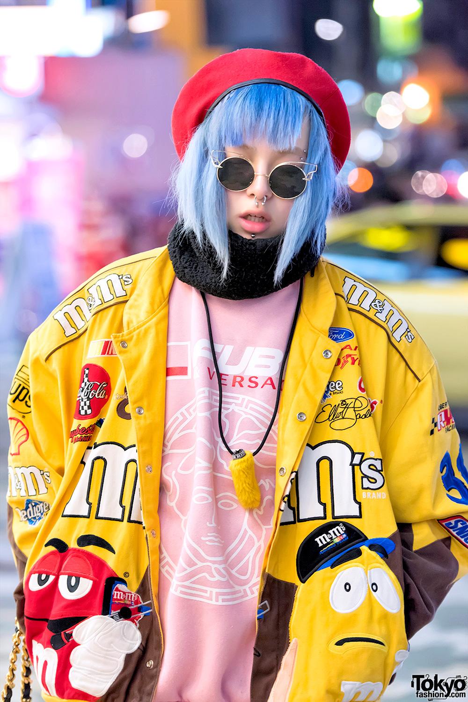 Dog Harajuku M Amp Ms Bomber Jacket Tokyo Fashion News