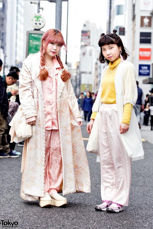 Vintage Harajuku Street Styles