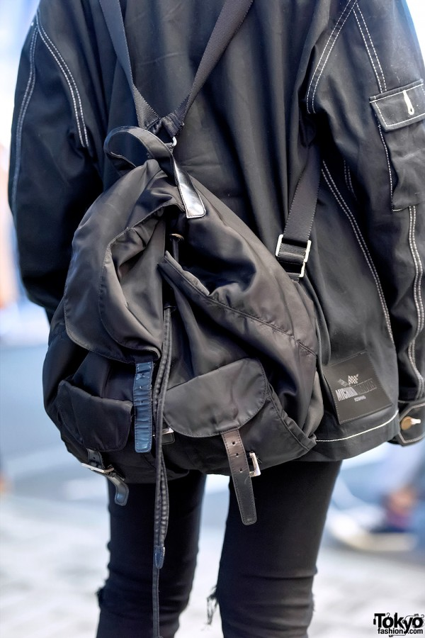 Prada Backpack Harajuku
