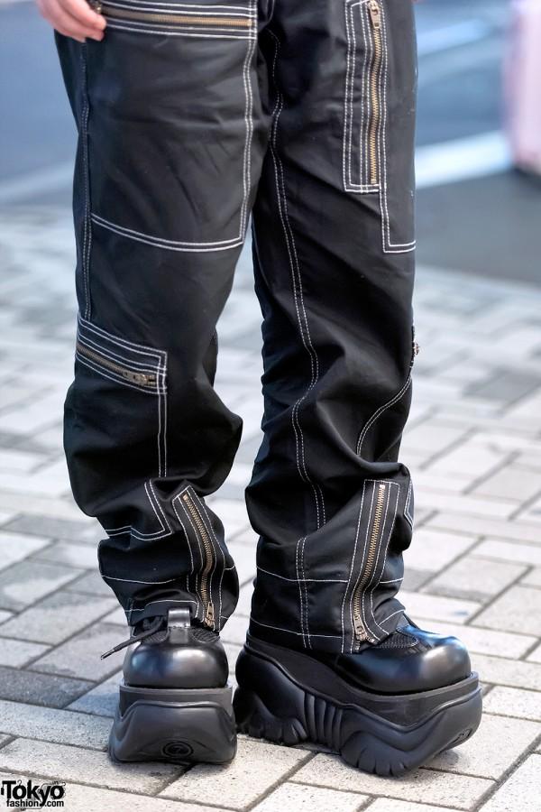 Michiko London Koshino x Demonia Boots
