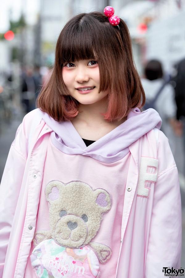 Punyus Jacket & Milklim Kawaii Sweatshirt
