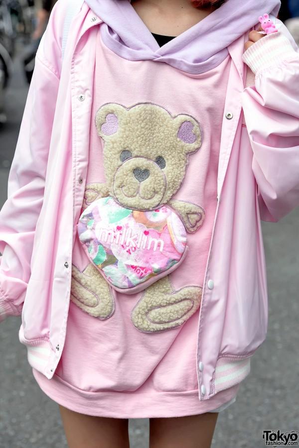 Kawaii Milklim Teddy Bear Sweatshirt