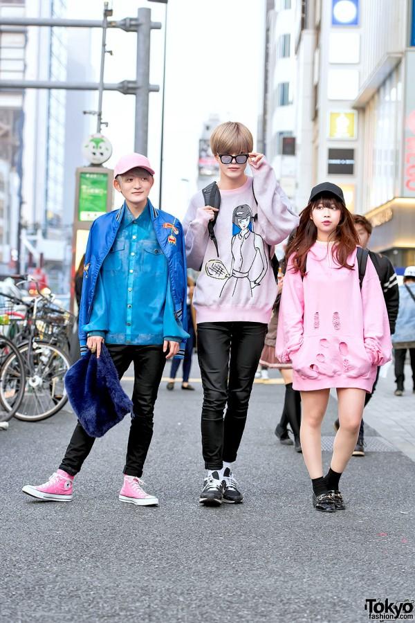 Harajuku Street Styles w/ Pink