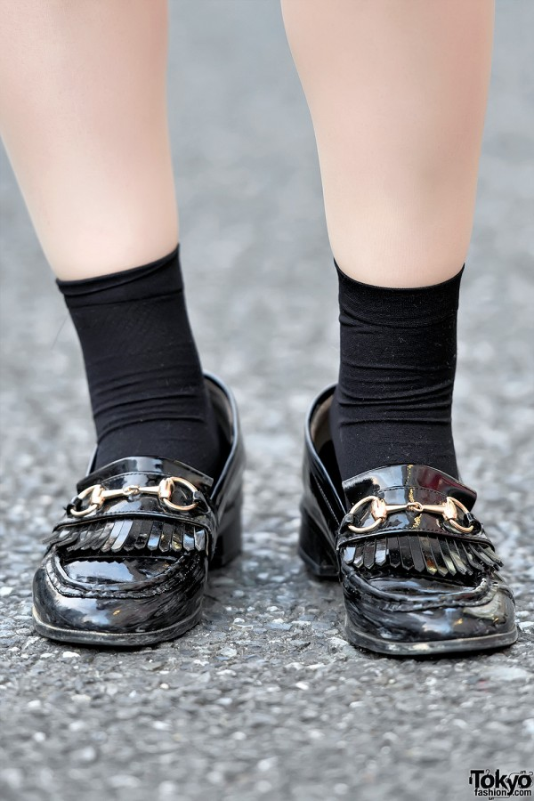 Japanese Loafers in Harajuku