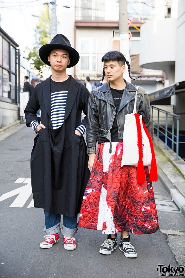 Harajuku Guys In Comme des Garcons