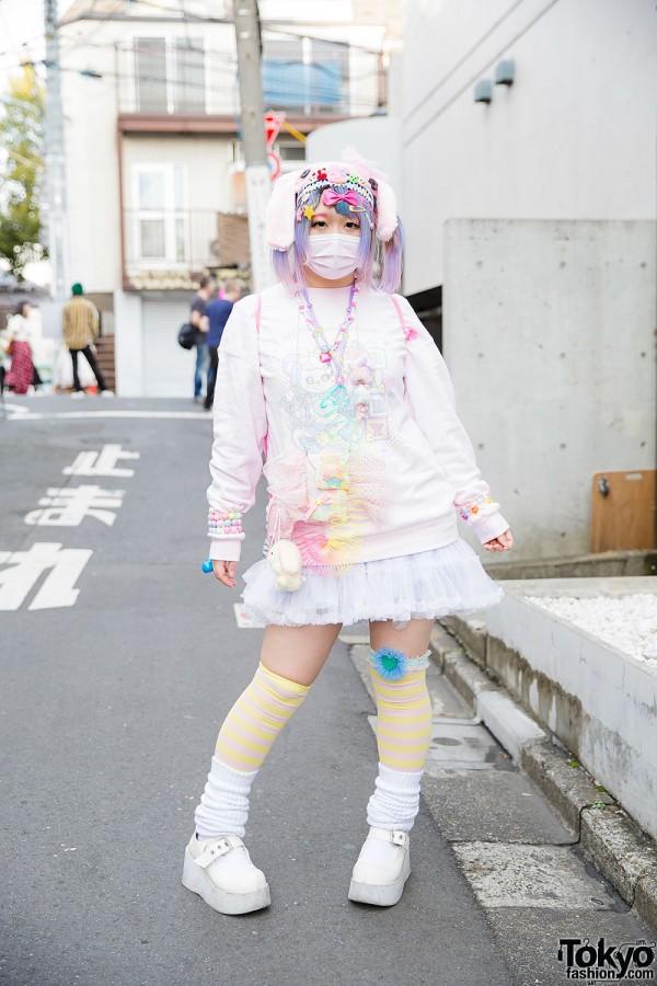 Pastel Hair Amp Pastel Fashion W Manamoko 6 Dokidoki My