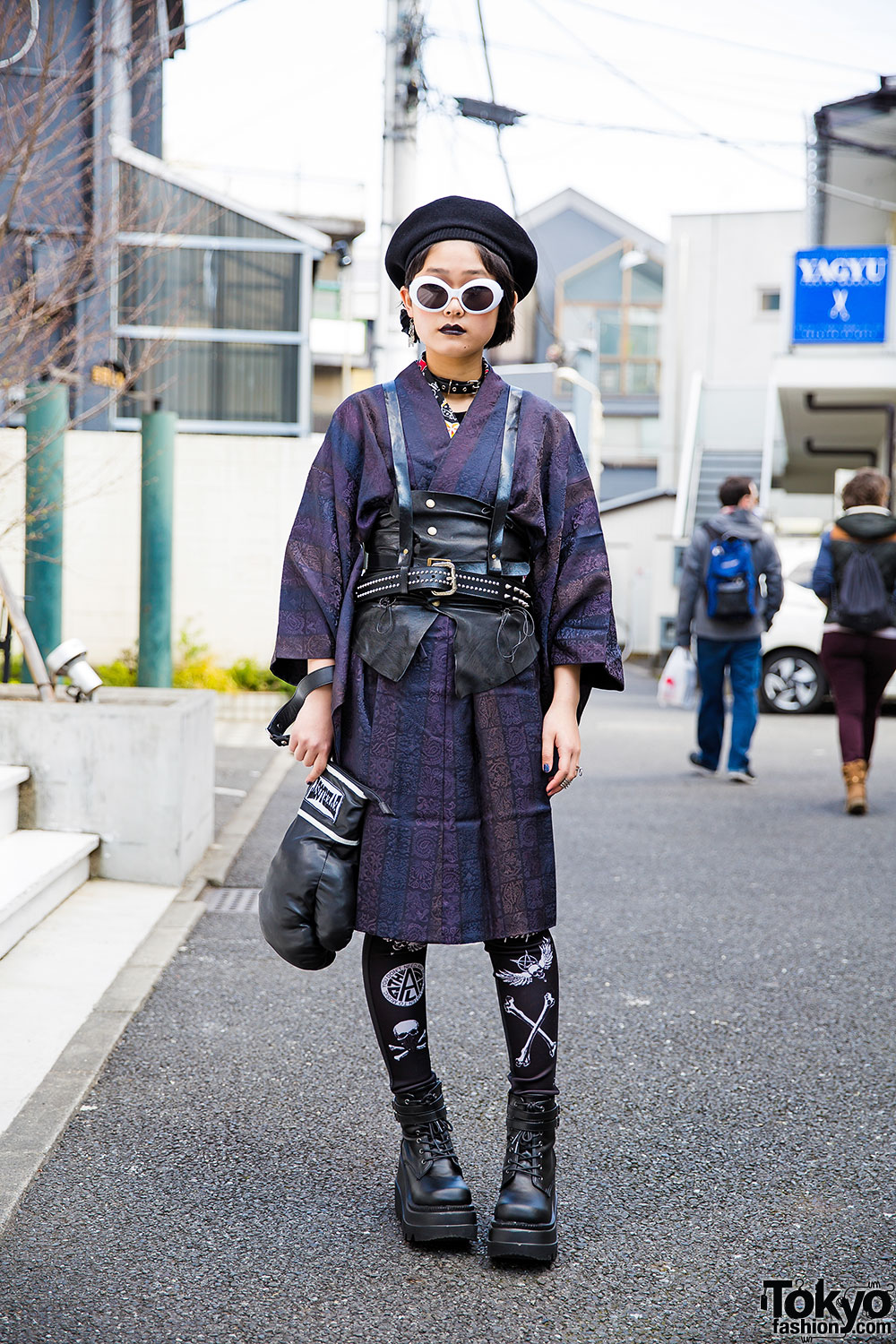 Harajuku Girl In Harness Over Kimono W Glad News Demonia Glavil