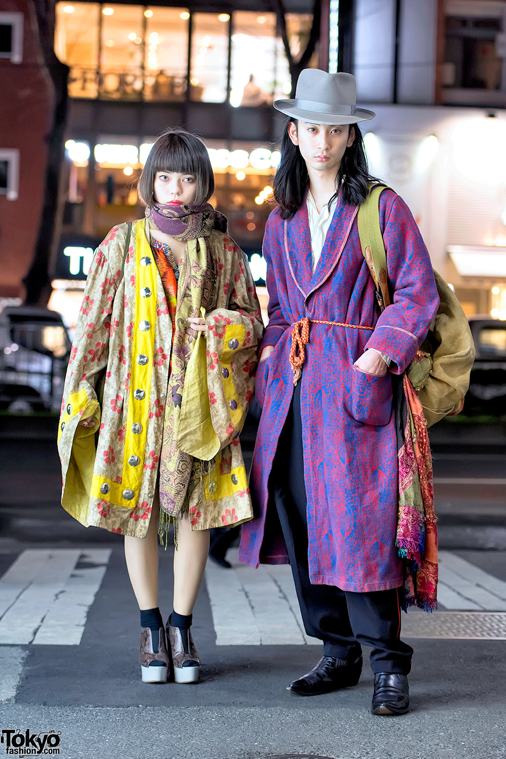 Vintage And Antique Harajuku Street Styles W Comme Des