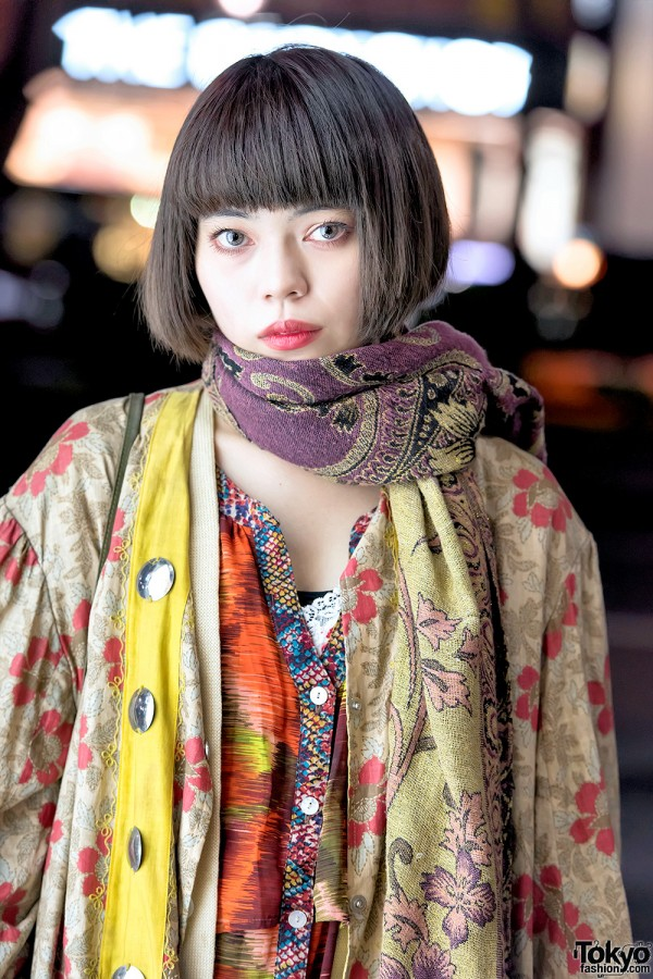 Antique Kimon Sleeve Robe