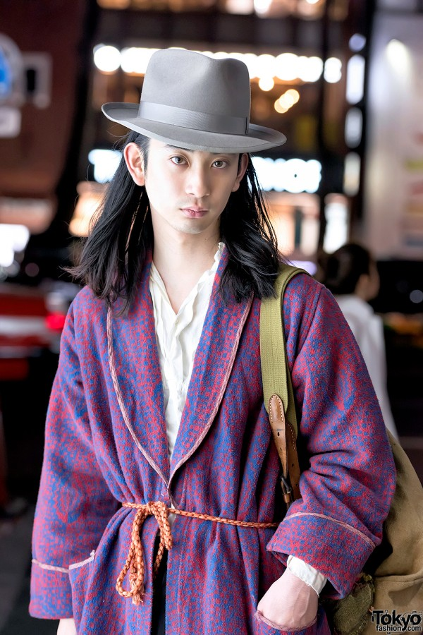 Vintage Robe in Harajuku