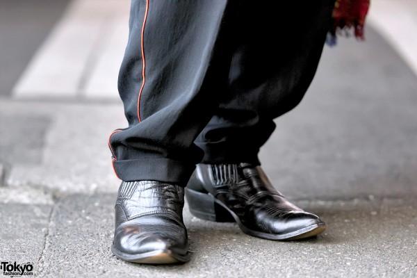 Vintage Comme Des Garcons Pants & Boots