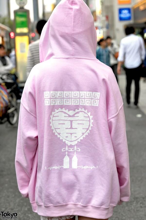 2.Xjigen Hoodie in Harajuku