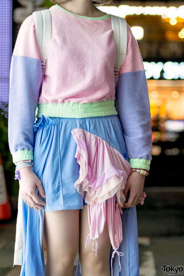 Cathy Southpaw Remake Pastel Shorts