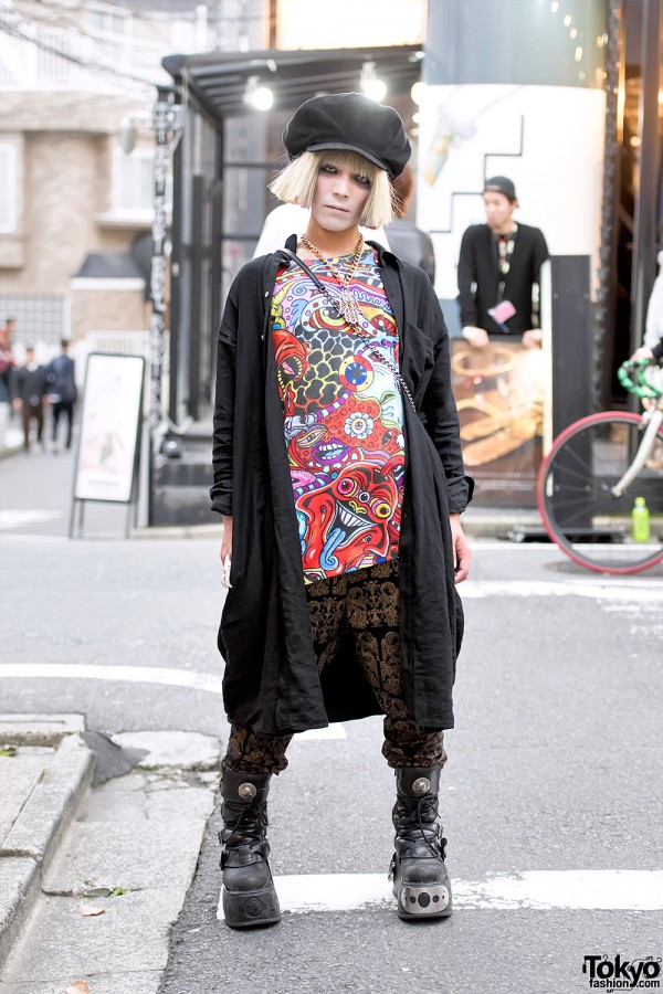Dog Harajuku Fashion Fangophilia Rings Myob Nyc Bag: Harajuku Guy W/ Malicious.X Eye Bag, Dog Harajuku