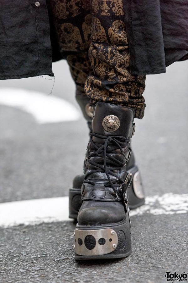 New Rock Boots x Monomania