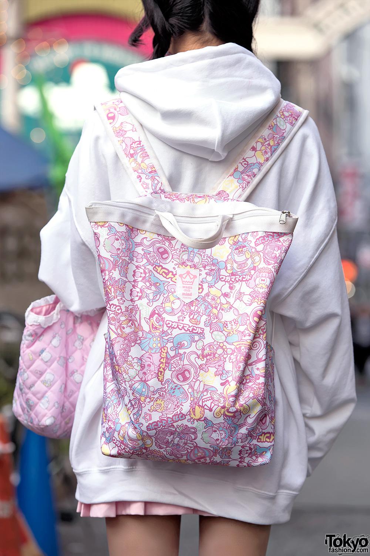 Pink Bangs Oversized Hoodie Amp Kawaii Fashion On The