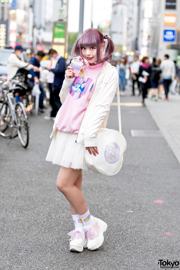 Harajuku Girl w/ Pastel Twintails & Kawaii Fashion by Ank Rouge & Neon Moon