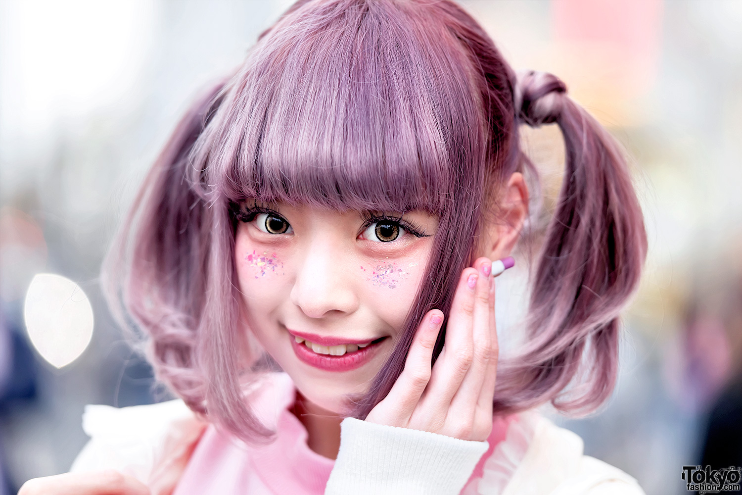 Harajuku Girl W Pastel Twintails Amp Kawaii Fashion By Ank