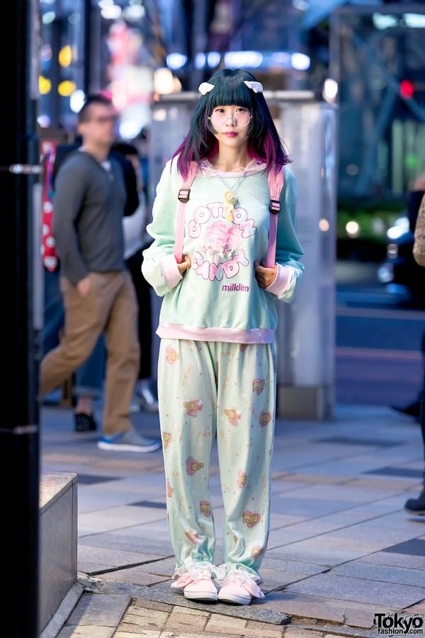 Kawaii Milklim Harajuku Street Style