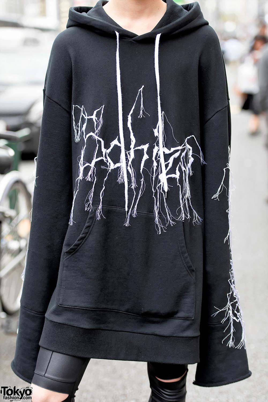 Never Mind The Xu Harajuku Street Styles W Sub Age Hoodie