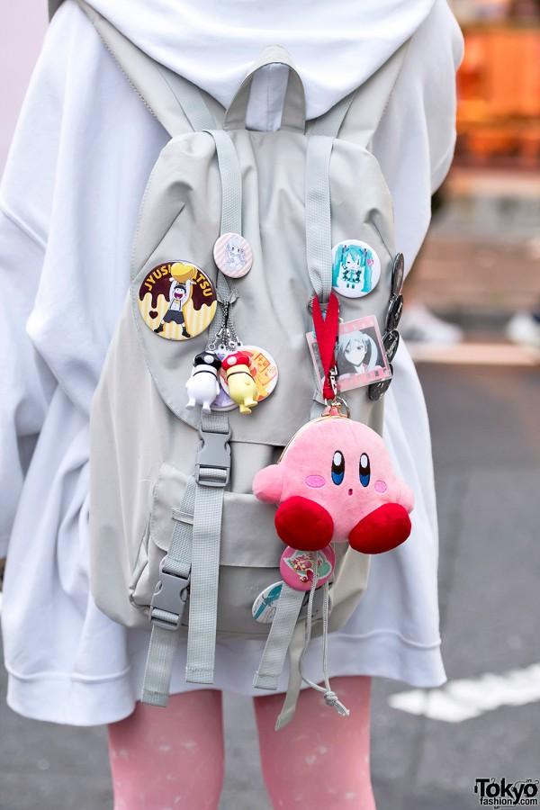 Kiki2 Backpack & Anime Pins