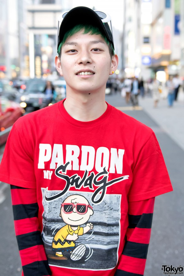 Super Cute Snoopy Amp Charlie Brown Street Styles In Harajuku