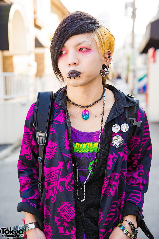 Dark Harajuku Styles W Body Piercings Barokue Brain