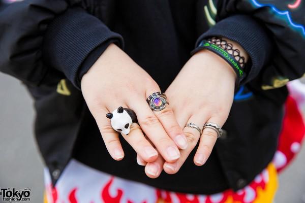 Panda Ring Harajuku
