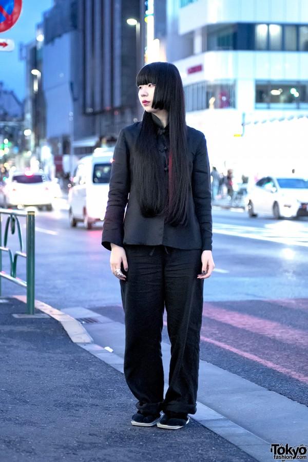 Comme Des Garcons x Yohji Yamamoto in Harajuku