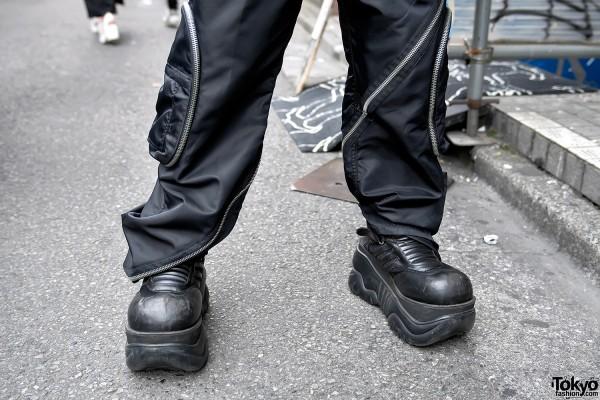Demonia Boots x Dolce & Gabbana