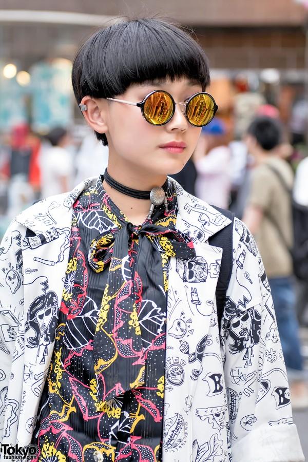 Kobinai Fashion & Round Sunglasses