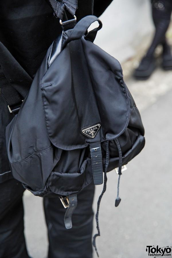 Black Prada Backpack