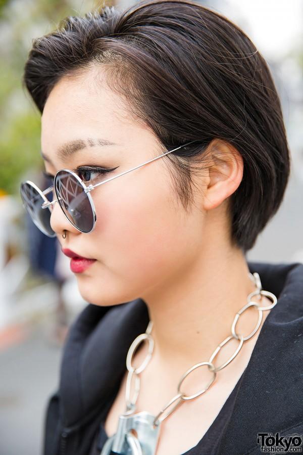 Harajuku Girl With Short Hair