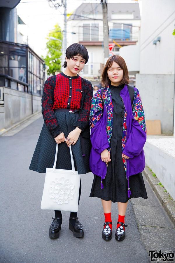 Harajuku Girls in Tokyo Bopper Shoes w/ Chicago, Punk Cake, Spinns & San to Nibun no Ichi Items