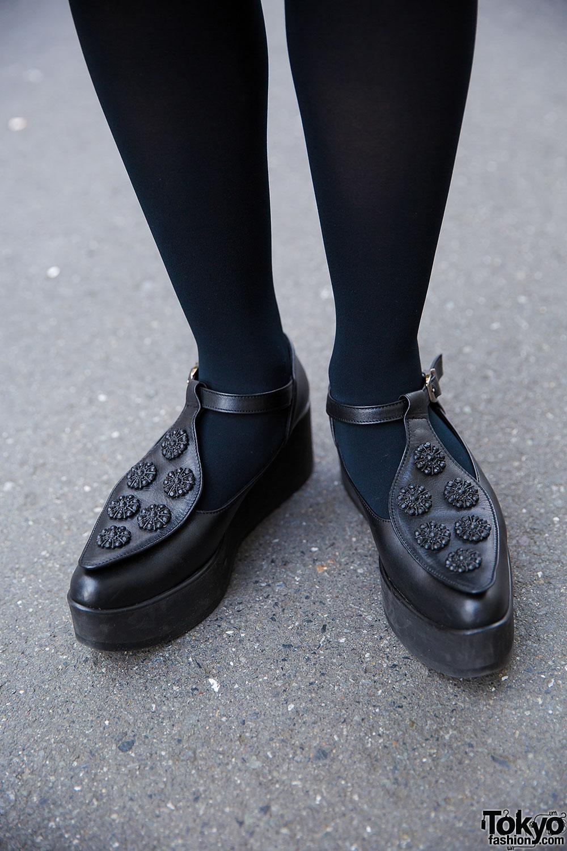 Harajuku Girls In Tokyo Bopper Shoes W Chicago Punk Cake